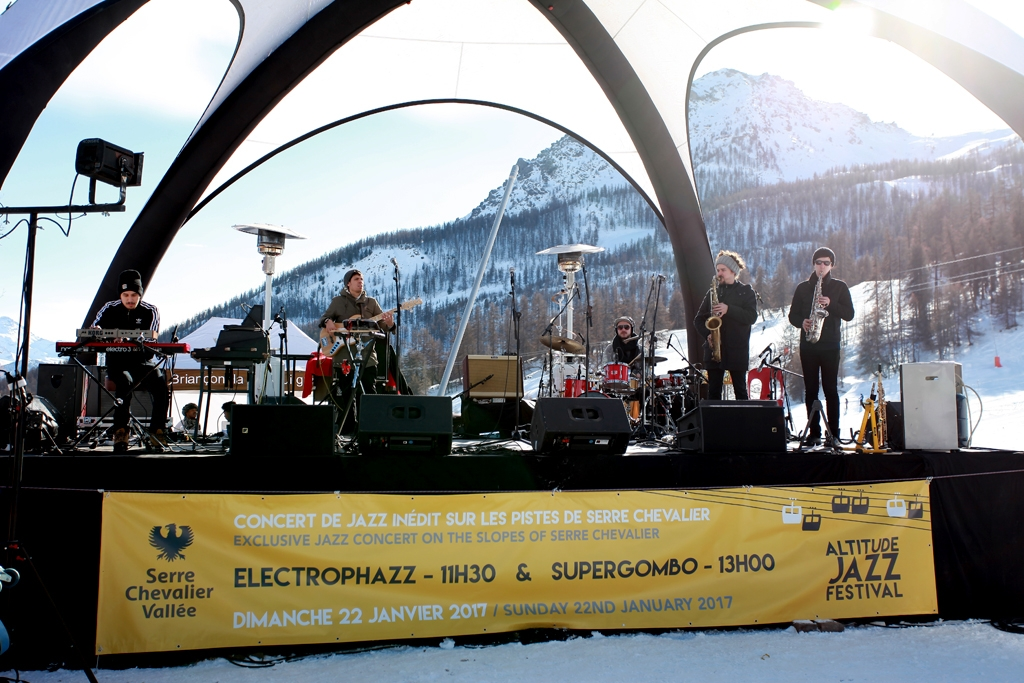 Altitude Jazz Festival Serre Chevalier