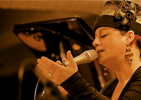 Kristin Marion chanteuse des Swing Lovers