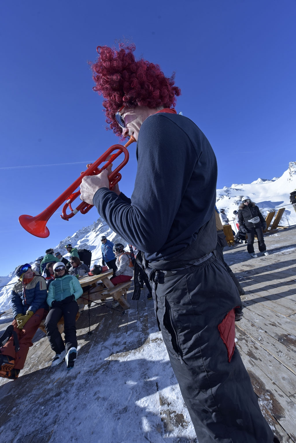 The Flying Frenchies Band Serre Chevalier